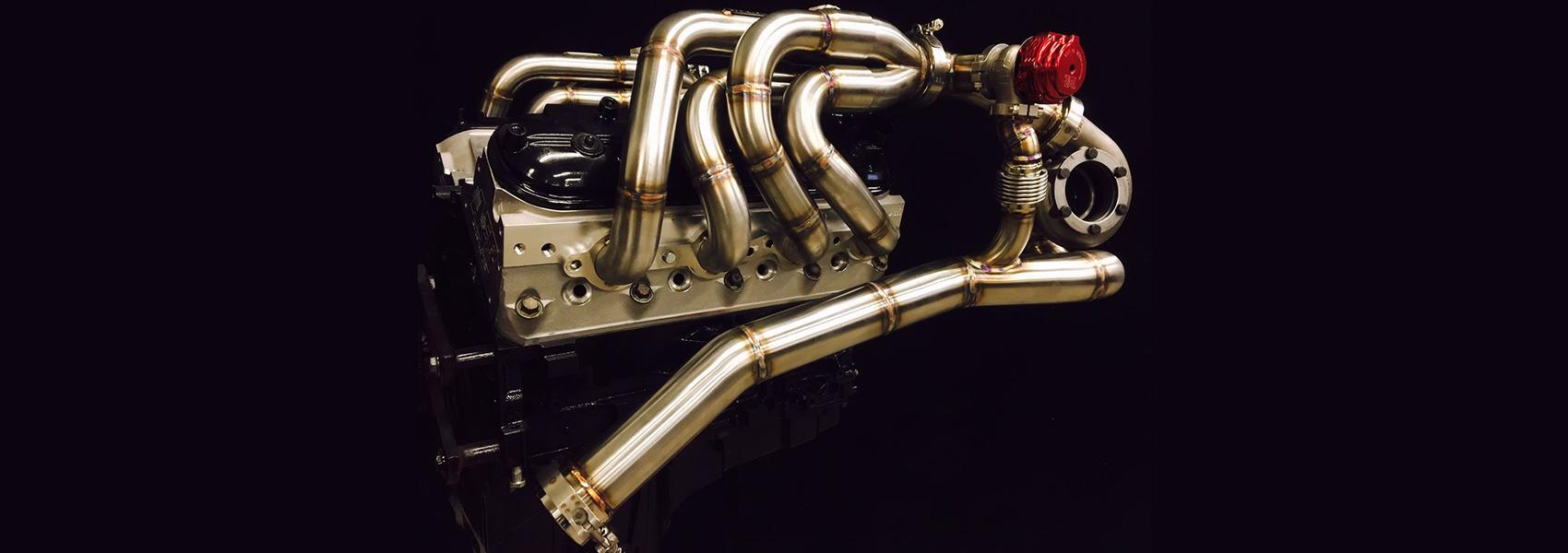 Stainless Steel LS Turbo System - GP Headers - Barnesville, MN