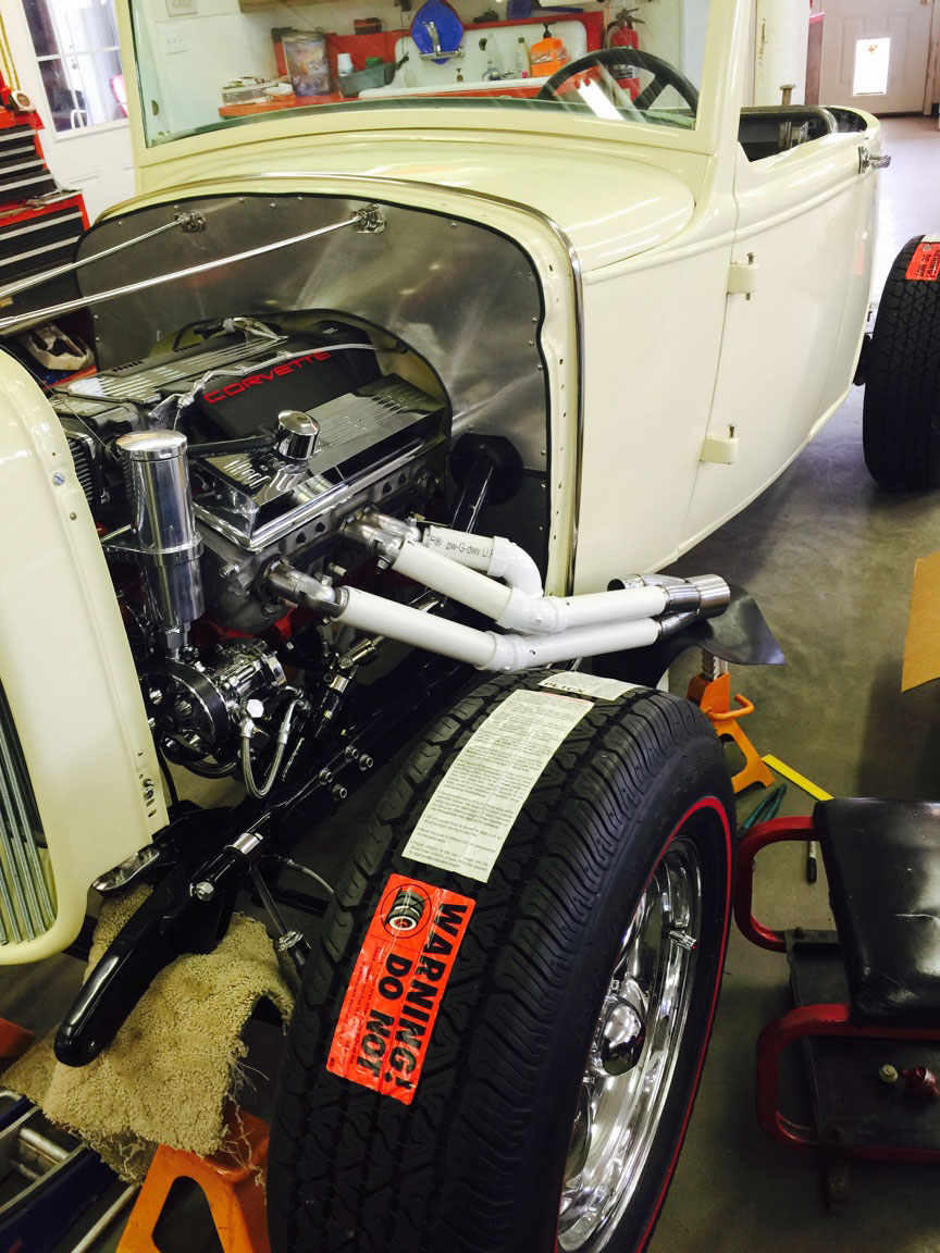 Model A Header Build Kit - GPHeaders - Barnesville MN