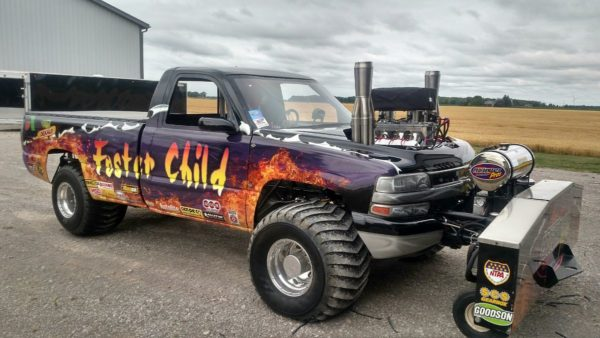 Big Block Chevy Pulling Truck/Upright Header - GPHeaders - Barnesville, MN