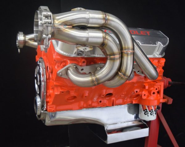 Big Block Chevy Up and Forward Turbo Header Stainless Steel - GPHeaders - Barnesville, MN